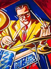 JOE MORELLO PRINT poster jazz drums dave brubeck cd take five marian mcpartland