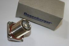 ROSENBERGER PRO  7/16TH 4 HOLE CHASSIS FEMALE LONG REACH  60K411-900B1     fd4f2