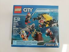 LEGO City 60091 Deep Sea Starter Set - NEW - SEALED - RETIRED