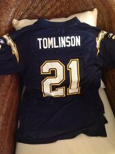 Ladainian Tomlinson SAN DIEGO CHARGERS NFL Jersey Size L 14-16 Youth