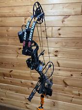 PSE Drive 3B 70lb Compound Bow RH BLACK Blackout Compound Bow Pack