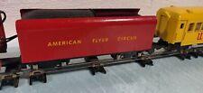 American Flyer Trains  # 353 Circus  Locomotive set