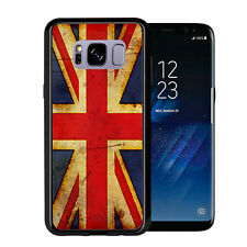 British  Flag Union Jack Grunge For Samsung Galaxy S8 2017 Case Cover by Atomic