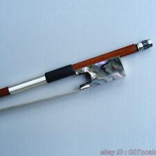 Top Model Pernambuco 4/4 Violin Bow Silver Mounted With Abalone Shell Bows