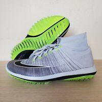 Nike Flyknit Elite Pure Platinum Gray Volt Spikeless Golf Shoes SZ (844450-002)