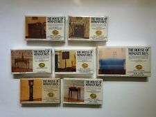 House of Miniatures Lot of 7  X-ACTO Collectors Series