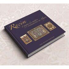 livre coffret Algérie miniature Mohamed  Racim luxe dans papier  glacé neuf