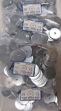 (400) Oversized #10 Fender Washers 3/16 x 1-1/2 OD - Zinc Plated