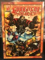 Dan Abnett & Andy Lanning Dual Auto Cover Card 2014 GUARDIANS OF THE GALAXY B14