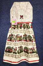 **NEW** Handmade Christmas Holiday RV Camping Hanging Kitchen Hand Towel #2126