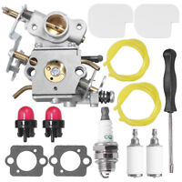 Carburetor 545070601&Air Filter&Spark Plug Carb Kit For Poulan Pro Gas Chainsaw
