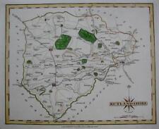 RUTLAND UPPINGHAM STAMFORD OAKHAM BY JOHN CARY GENUINE ANTIQUE MAP  c1793