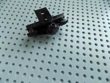 LEGO 45078 Black Train Buffer Beam with Rectangular Buffers Plow and Magnet