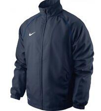 Nike Club Youth Boys Foundation Sideline Woven Jacket Top Blue XL Age 13