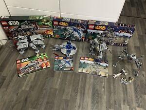 Lego Star Wars Fahrzeuge Sammlung 75019 Usw Ovp's Und Anleitungen