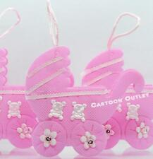 24 Baby Shower It'S A Girl Favors Fillable Carriage Decorations Pink Recuerdos