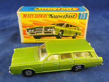 Matchbox Superfast MB - 73 a Mercury Commuter in metallic Geen