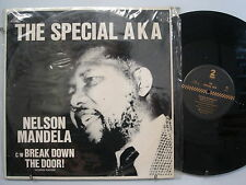 "SPECIAL AKA Nelson Mandela/Break Down The Door! ROCK 12""  2 TONE UK Import"