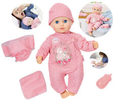 Zapf Creation My First Baby Annabell Puppe Baby Fun 36 cm (Rosa)
