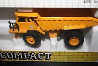 Caterpillar Dump Truck Construction Joal Die-cast Metal w/Box Scale 1:70  -QQ#