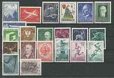 Österreich Jahrgang 1958 und 1959 komplett postfrisch ohne Trachten 58
