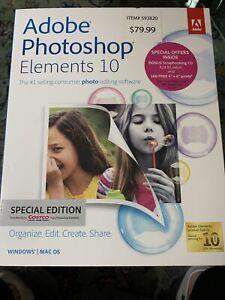 Adobe Photoshop Elements 10 Costco Special Edition
