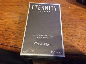 ETERNITY ~CK Calvin Klein ~ Cologne for Men ~ 3.4 oz ~NEW IN SEALED BOX