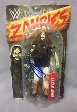 Bray Wyatt SIGNED WWE Zombies Figure Toy AUTO COA Wrestling Raw Smackdown