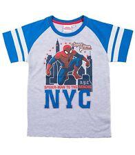Marvel Spiderman T-Shirt Grau Gr.140
