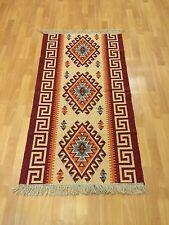 Orientteppich Teppich Kelim fleckerlteppich Handgewebt 150x80 Tapis Tappeto Rug