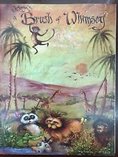 Jo Sonya Brush of Whimsey Decorative Painting Book with Patterns Folkart