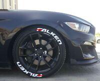 Permanent Tire Lettering stickers Falken 1-25'' 15''16''17'18'19'20 (8 DECAL Kit