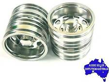 Alloy rear wheels for Tamiya 1:14 RC Tractor Trailer Prime Mover King Hauler