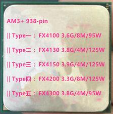 AMD X4 FX4100 FX4130 FX4150 FX4200 FX4300 AM3+ 938-pin Desktop CPU