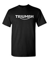 TRIUMPH MOTORCYCLE T SHIRT LOGO, RACING T SHIRT