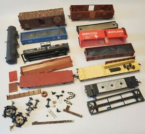 HO scale Assorted parts AS IS for repair restore replace or boneyard ~ lot t1116