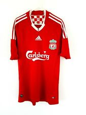 Liverpool Home Shirt 2008. Small. Original Adidas Red Adults Football Top Only