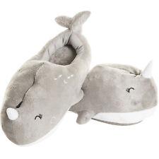 Smoko Narwhal Sea Heated Cute Kawaii Chibi Fun Plush Rechargeable Adult Slippers