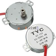 Pro Tyc 50 Av 12v 4w 5060hz Synchronous Motor 56rpm Cw Ccw Microwave Turntable