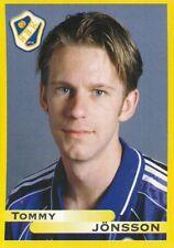 072 tommy jonsson # sweden halmstads bk. 1999 sticker fotboll allsvenskan