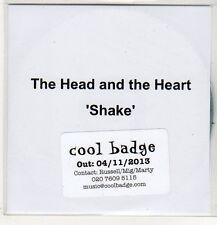 (EP585) The Head And The Heart, Shake - 2013 DJ CD