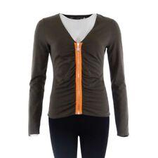 Damen-Pullover & -Strickware aus Baumwollmischung mit Reißverschluss in Größe 42