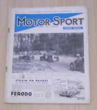 MOTOR SPORT Magazine June 1935 Triumph Gloria AURBURN Shelsley Walsh Hill Climb