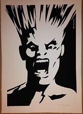 #17 GARY PANTER ART ALLIANCE PRINT THE PROVOCATEURS JIMBO SCREAMERS POSTER