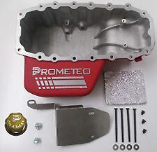 Prometeo Meccanica 6qt Increased Oil Pan - 2012+ Fiat 500, Abarth, 500T & 500 NA