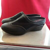 Cole Haan Leather Slip On Wedges Size 7.5AA