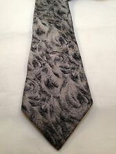 Bally 100% Silk Tie Classic (57 in.-60 in.), Floral, Multi-Color and Skinny