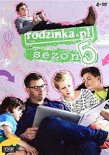 Rodzinka.pl - Sezon 5 (DVD) 2014 serial TV Kozuchowska, Karolak POLISH POLSKI