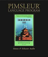 NEW Japanese III: Pimsleur Comprehensive by Pimsleur