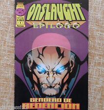 Comic, Onslaught Epílogo: Sendero de Redención, nº 1, Marvel, Larry Hama, 1997